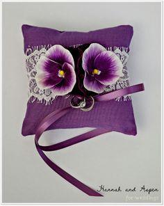 Bella  6x6  Wedding ring pillow  Wedding by HannahAspensbridal, $15.00