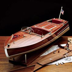 The Famous Chris Craft 1949 Racing Runabout Kit