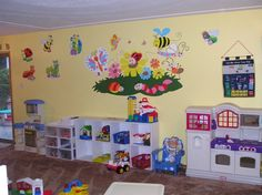 lots of daycare room ideas