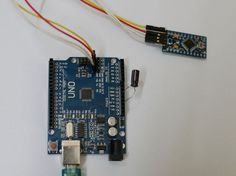 Picture of Uploading sketches to Arduino Pro Mini using Arduino UNO board (without removing Atmel Chip)