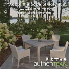 At AuthenTEAK, High Quality Outdoor Furniture, Along With Outstanding Customer  Service Is Our · Outdoor Living SpacesGrillsFire ...