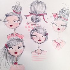 Hair accessories.  ©anne keenan higgins