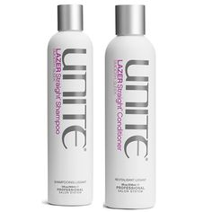 UNITE Launches New BOOSTA Volumizing and LAZER STRAIGHT Shampoos & Conditioners