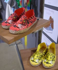 tiger espadrilles. #kids #accessories #shoes