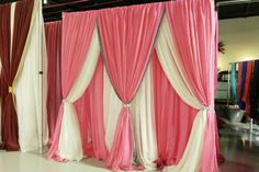 Iwed Backdrop Frame, Diy Wedding Backdrop, Fabric Backdrop, Ceremony Backdrop, Stage Decorations, Indian Wedding Decorations, Curtain Designs, Backdrops For Parties, Drapes Curtains