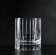 Boulevard Cut Crystal Double-Old Fashioned, Set of 4 | Spirits & Liquer | Restoration Hardware
