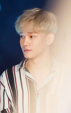 Jongdae ❤ Accept it, Jongdae with Blonde hair killed us. Exo Chen, Luhan, Kim Jong Dae, Celebrity Magazines, Exo Luxion, Kim Minseok, Wattpad, Kim Junmyeon, Exo Members