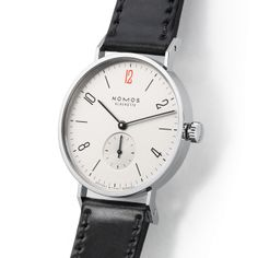 Tangente for Doctors Without Borders UK sapphire crystal back   Beautiful watches purchased online. Directly from NOMOS Glashutte.