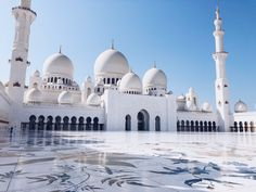 Sheikh Zayed Grand Mosque Sheik, Grand Mosque, Taj Mahal, Thats Not My, The Outsiders, Culture, Building, Travel, Viajes