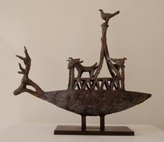 Animal and Bird Boat  by John Behan