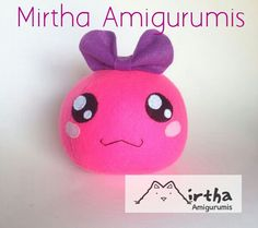 Dango plush toy by Mirtha Amigurumis #felt #dango #mochi #plushtoy #plushie #dangofelt #handmade #diy #kawaii