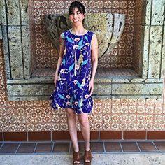 Hidden Isle Dress #Anthropologie #MyAnthroPhoto