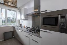 Comfort Keuken van Voortman in rechte opstelling. #comfort #keuken #voortman