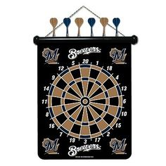 Milwaukee Brewers Magnetic Dartboard