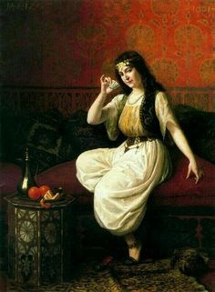 Merie Antoinette Izart/ The turkish coffee