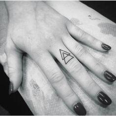 Triangle Tattoo. Delta. Positive Change.