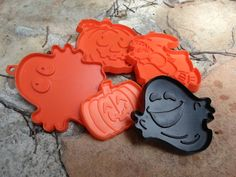 Halloween Cookie Cutters by BaublesAbode on Etsy, $14.00