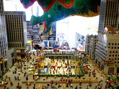 Lego store in New York