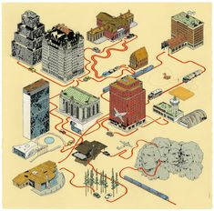 The mapping of a movie - Andrew Degraff - North By Northwest