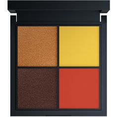 Jay Manuel Beauty Intense Color Eyeshadow Quad, Loud 0.05 oz (1.5 ml) ($24) ❤ liked on Polyvore featuring beauty products, makeup, eye makeup, eyeshadow and beauty