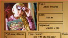Character Sheets Galore