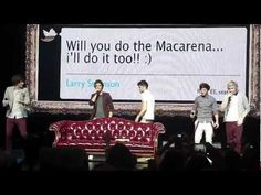 One Direction doing the Macarena in Detroit 6/1/12