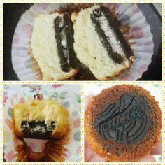Cupcakes com Negresco (Oreo)