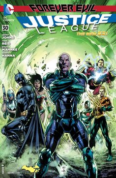 """It all changes here with the first chapter of """"INJUSTICE LEAGUE""""! The next era of the Justice League begins as heroes quit, villains join and a Justice League roster you've never seen before emerges, led by the world's greatest hero — LEX LUTHOR?! As the dust settles and the bodies are buried, the violent consequences of FOREVER EVIL must be dealt with — while a mysterious new force sets its target on the League. But is this force friend or enemy? And why does he want Luthor dead?"""