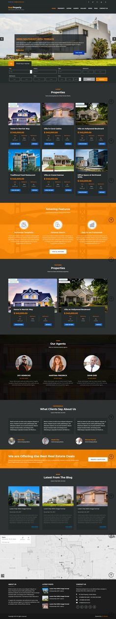 Real Estate WordPress Theme is Built for Property and Real Estate Agents