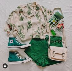 Style Outfits, Teen Fashion Outfits, Mode Outfits, Retro Outfits, Cute Casual Outfits, Cute Fashion, Vintage Outfits, Summer Outfits, Girl Outfits