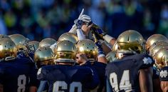 Printable 2016 Notre Dame Football Schedule