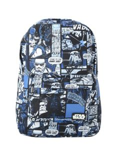 Star Wars Blue Comic Backpack