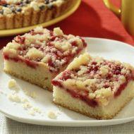 Fotografie receptu: Rychlý drobenkový koláč s ovocem