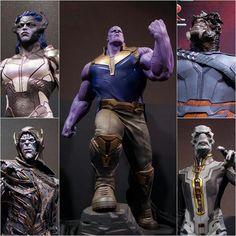 Thanos & The Black Order Thanos Marvel, Marvel Avengers, Marvel And Dc Characters, Marvel Series, Dc Comics, Thanos Children, Infinity Gauntlet Comic, Thanos Costume, Avengers