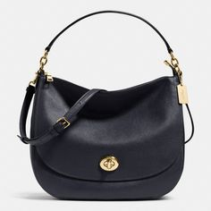 Shop The COACH Turnlock Hobo In Pebble Leather. Enjoy Complimentary Shipping