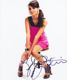 Victoria Justice Autographed Signed 8X10 Photo COA 'Victorious'