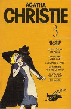 Les Intégrales du Masque - Agatha Christie - Volume 3 - Recto - Octobre 1991