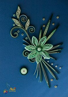 *QUILLING ~  by:  neli: Април 2012