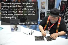 13 Lessons George R.R. Martin Has Taught Us About Writing  This is so true!