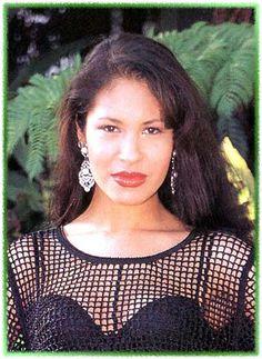 Selena posing for a photo shoot, 1994