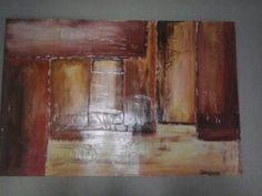 Quadro de 90X60 cm,nome A Passagem,fito em 2014 por IlsaHelena Almeida.