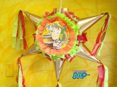 """PINAT EL CHAVO DEL 8 OCHO - Piñata Hand Crafted 26""""x26""""x12""""[holds 2-3 Lb. Of Candy][for Any Ocasion] . $32.99. This Pinata measures 26"""" x 26"""" x 12"""" Beautifully Detailed Traditional Cone Star shaped pinata with opening on top for stuffing treats. Sturdy enough to hold 2-4 pounds of candy. Pinatas are individually made 1 at time as ordered to ensure a Nice Clean Brand New Looking Pinata for your special occasion. Careful preparation and time is taken i..."""