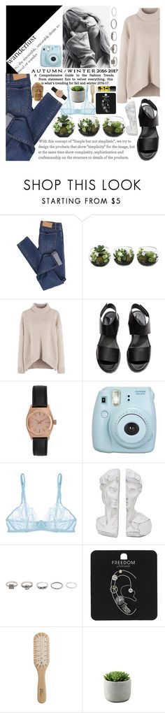 """""""// The Wanderlust // [casual]"""" by jessgomes99 ❤ liked on Polyvore featuring Cheap Monday, H&M, Nixon, Fujifilm, La Perla, BKE, Topshop, Maybelline and Philip Kingsley"""