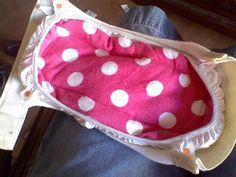 DIY gDiaper cloth insert - very easy with microfiber towel and fleece