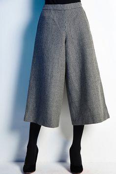 SNSTELLER - High Waisted Culotte Capris