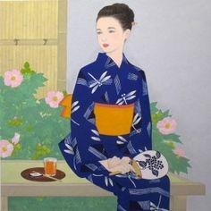 088宇治市植物公園出品作品 Style, Japanese Painting, Printmaking
