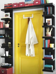 Shelf around door