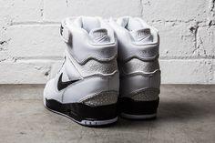 NIKE AIR REVOLUTION SKY HI (BLACK/WHITE)   Sneaker Freaker