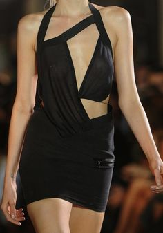 frenchoffence:  Abbey Lee Kershaw at Anthony Vaccarello SS 2012