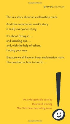 Exclamation Mark: Amy Krouse Rosenthal, Tom Lichtenheld